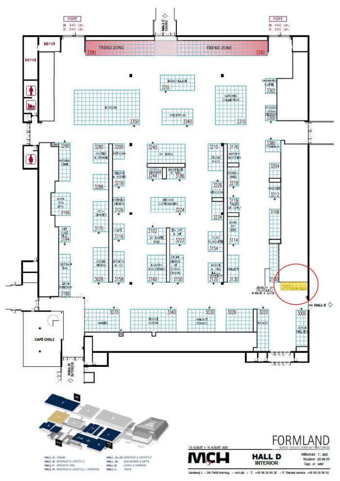 Novacolor er i Hal D på Formland 2020. novacolor.dk