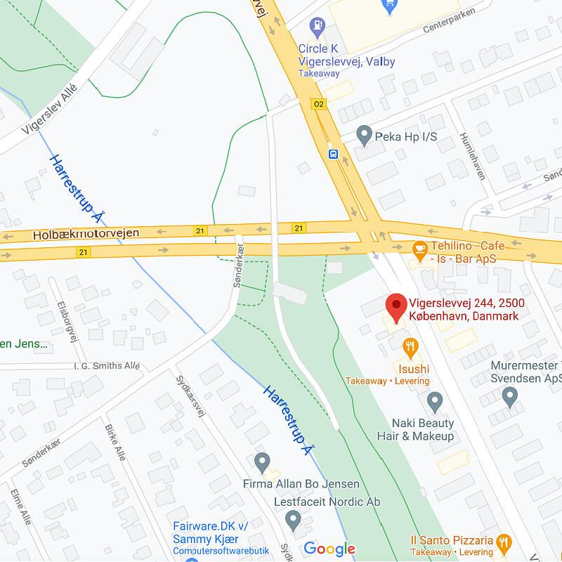 klik for google maps