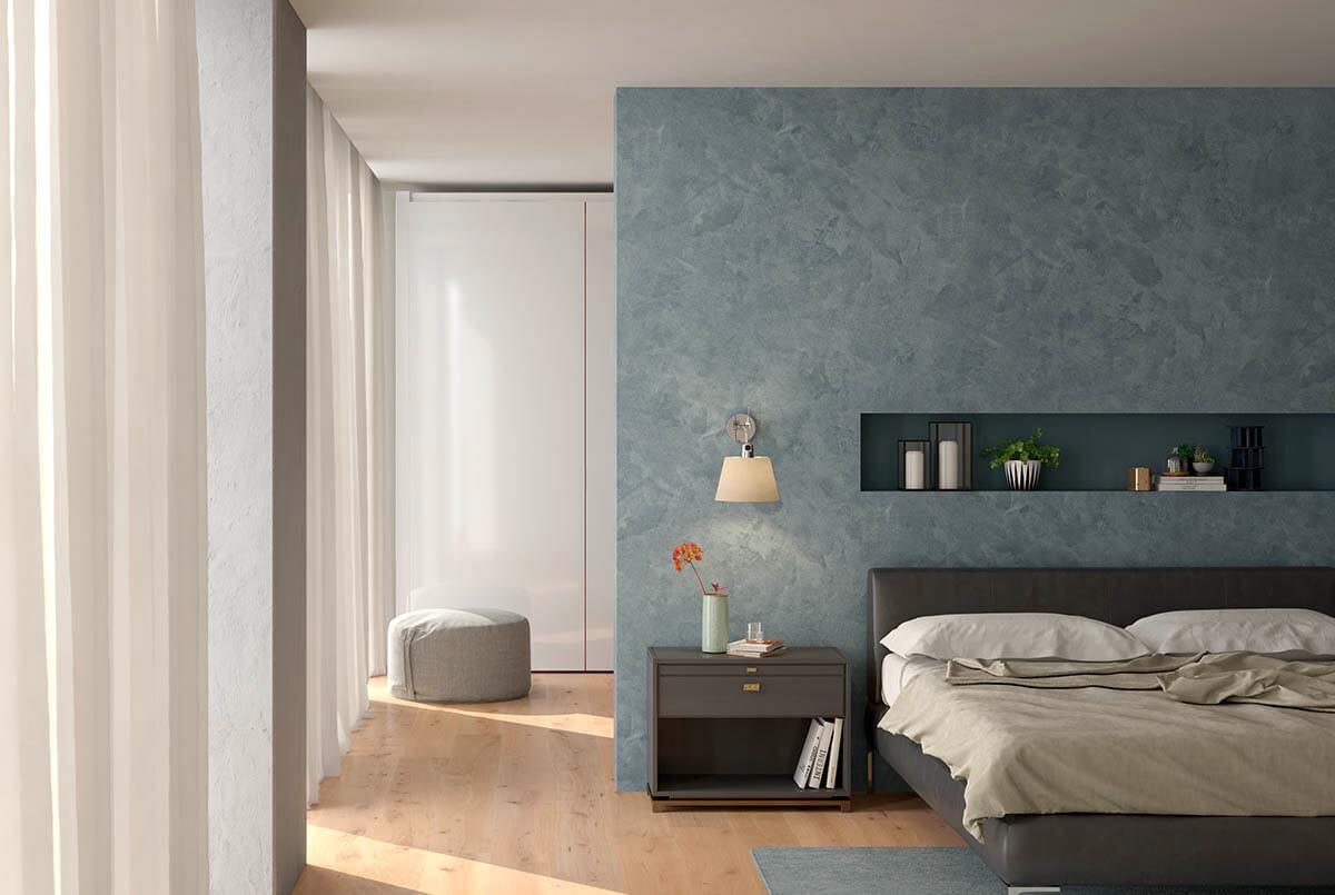 Matmotion silk til soveværelset. novacolor.dk
