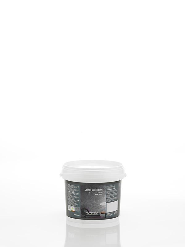 Celestia er en fløjels blød spartel maling der giver væggen et flotdekorativt look.